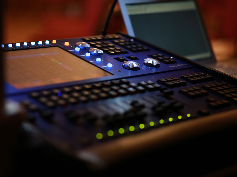 Chamsys Lighting Console - Example of Equipment Hire