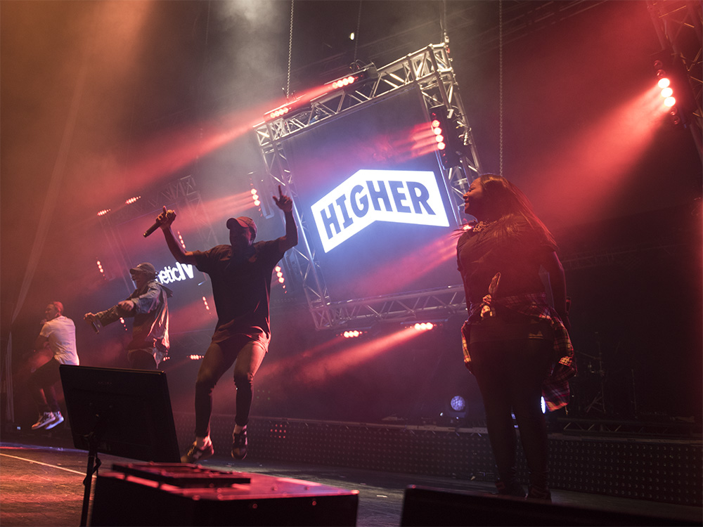 Higher Tour 2016 - Example of Live Music Event Production